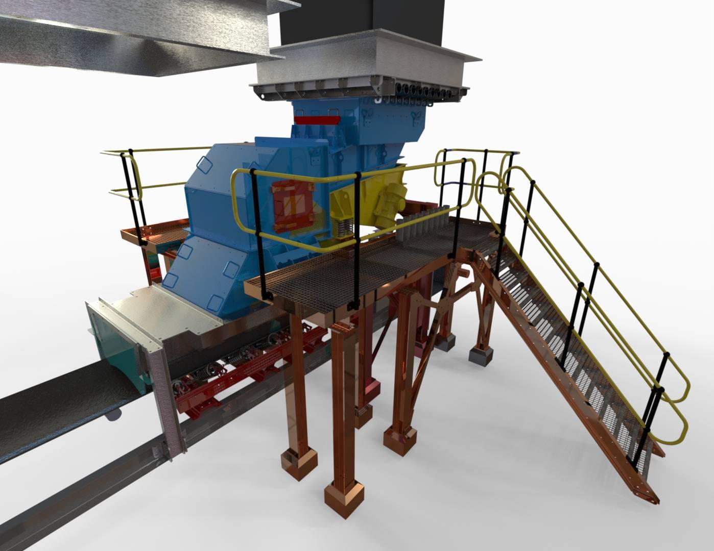 Weba Chutes To Optimise Silo Ore Flow For Sa Gold Mine